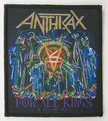 Anthrax - 'For All Kings' Woven Patch